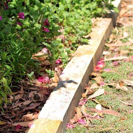 Sandstone Garden Edging – $28 00 per lineal metre - Sydney