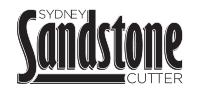 Sydney Sandstone Cutter Logo